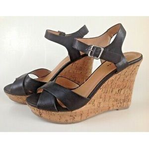 Too Moda Cork Wedge
